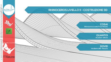 Corso Rhino – Costruzione Architettonica 3D – Livello 2 Rhino 5.0 + Grasshopper + PanelingTools