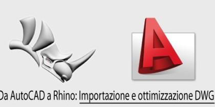 Autocad a Rhino