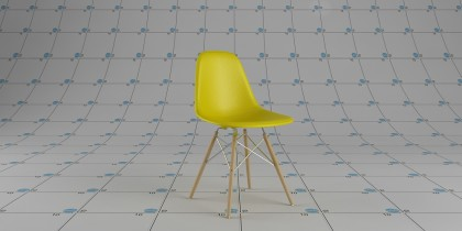 111-Eames plastic side chair DSW