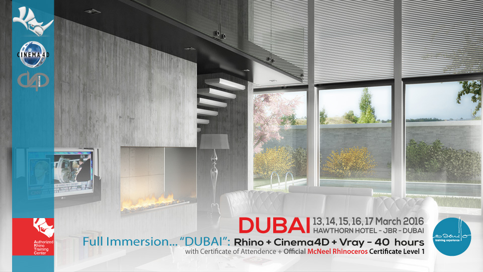 Full Immersion     DUBAI | Rhino Cinema4D Vray | Samilolab