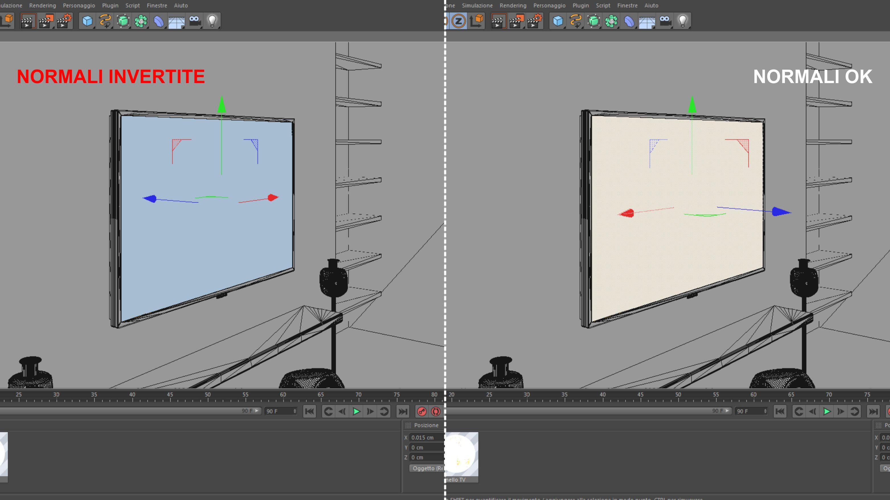 Tutorial Vray pannello Tv illuminato | SamiloLab