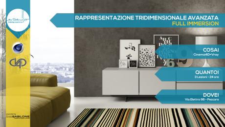 Rappresentazione Tridimensionale Avanzata Cinema4D+Vray