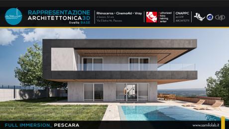 Full Immersion: Rappresentazione Architettonica 3D Rhino+Cinema4D+Vray