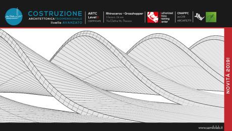 Corso Rhino – Costruzione Architettonica 3D – Livello 2 Rhino 6.0 + Grasshopper + PanelingTools