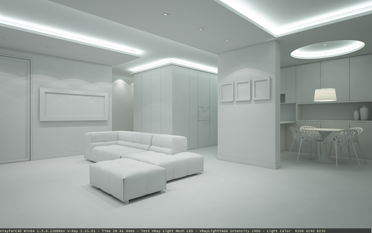 Luce con vray: point perspective rendering vray for sketchup