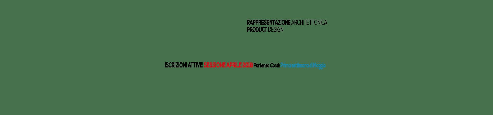 06_Rapp Arch/ Design + Iscrizioni